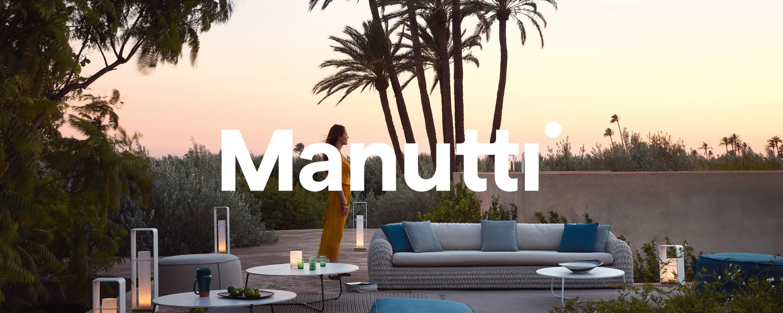 Manutti präsentiert seinen neuen Markenauftritt