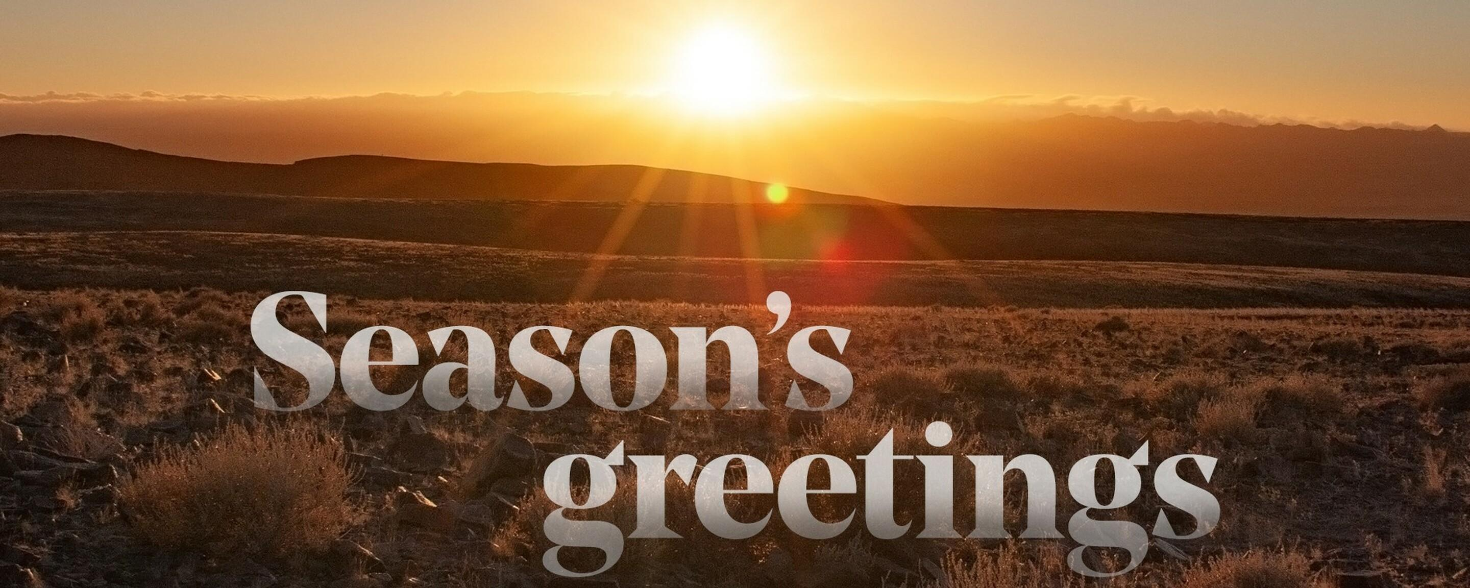 May the rising sun of the new year bring plenty of joy and togetherness