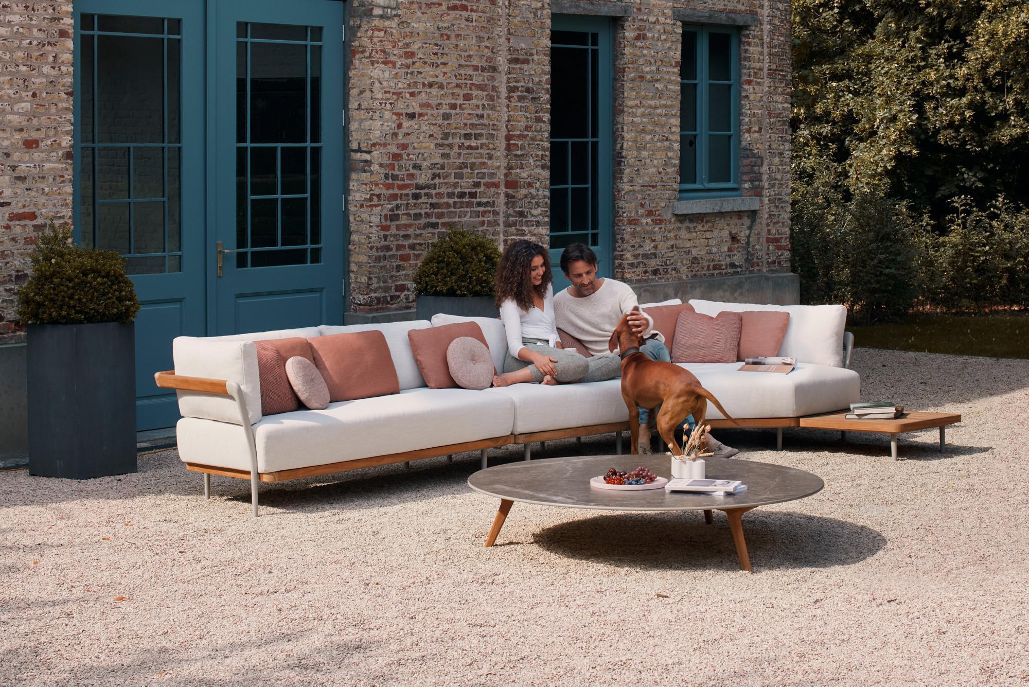 Flex sofa en Torsa koffietafel