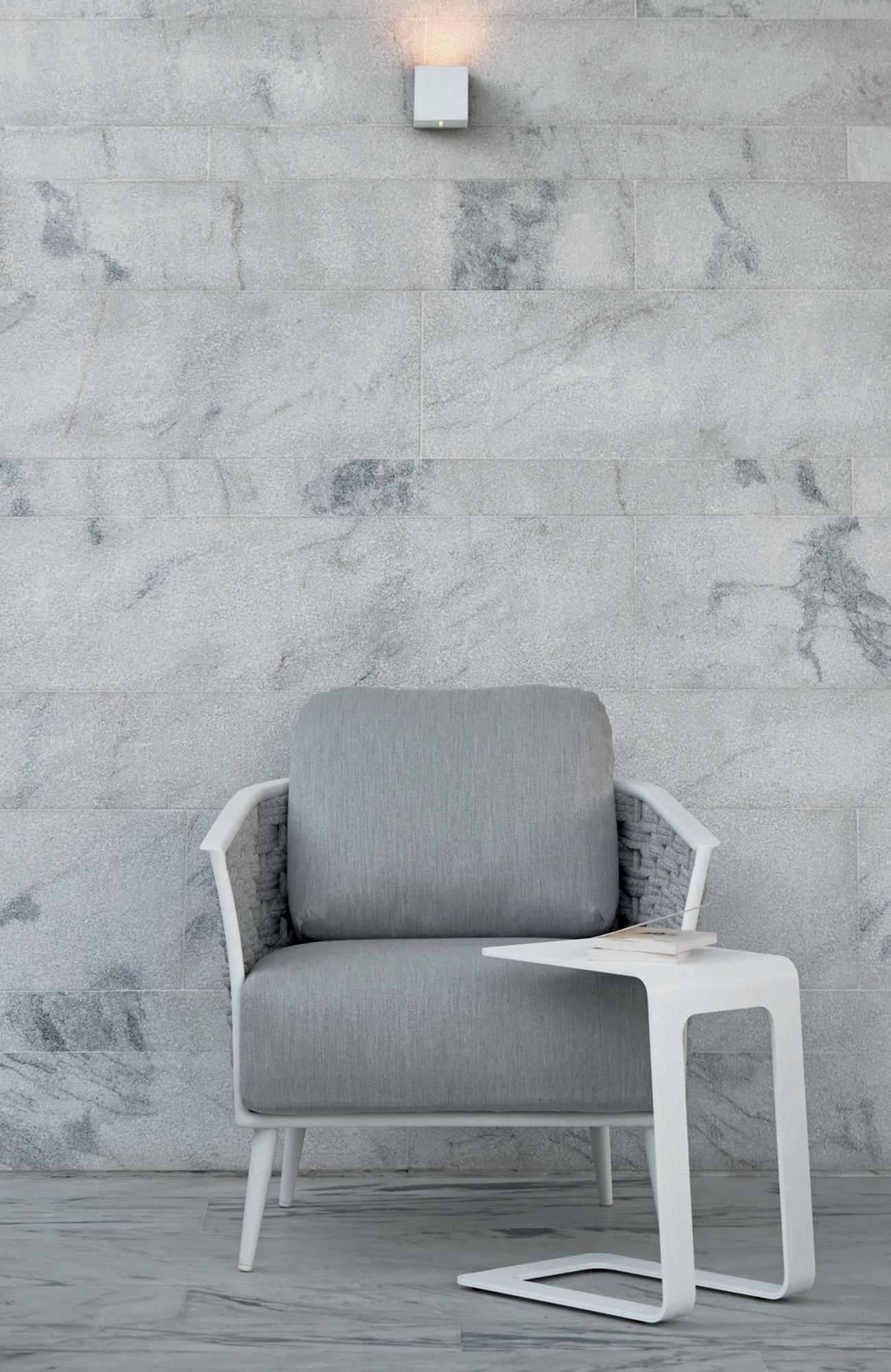Cascade loungestoel met bijzettafel