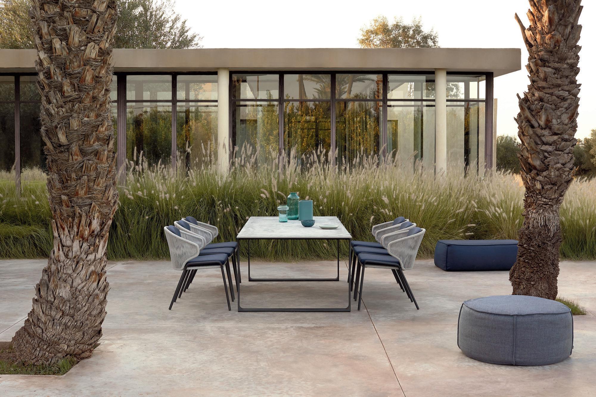 Radius Stühle mit Prato Esstisch