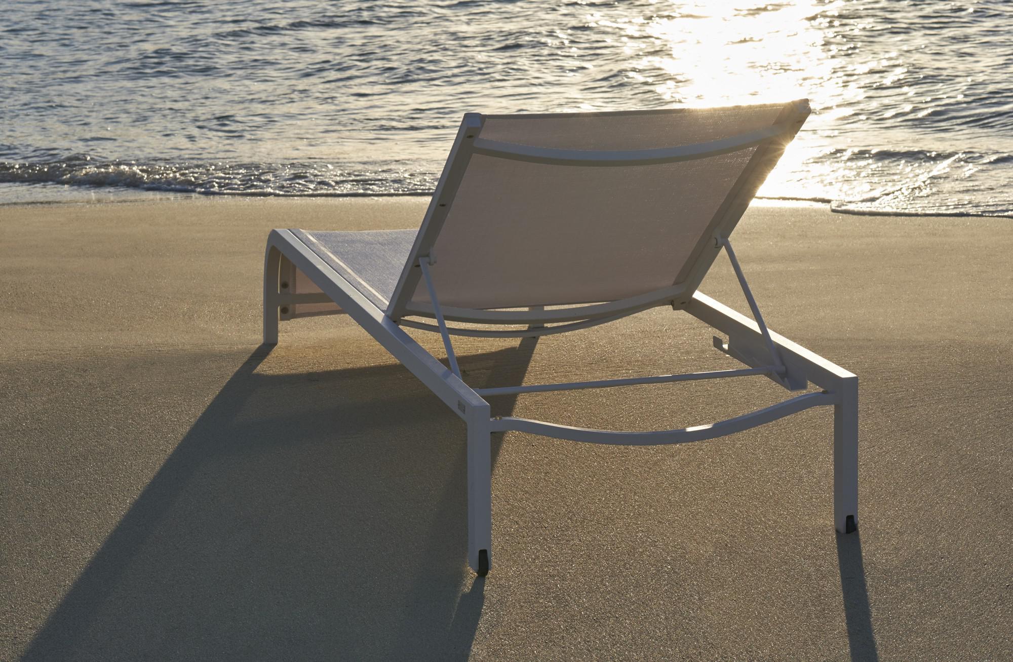 Latona chaise longue plage