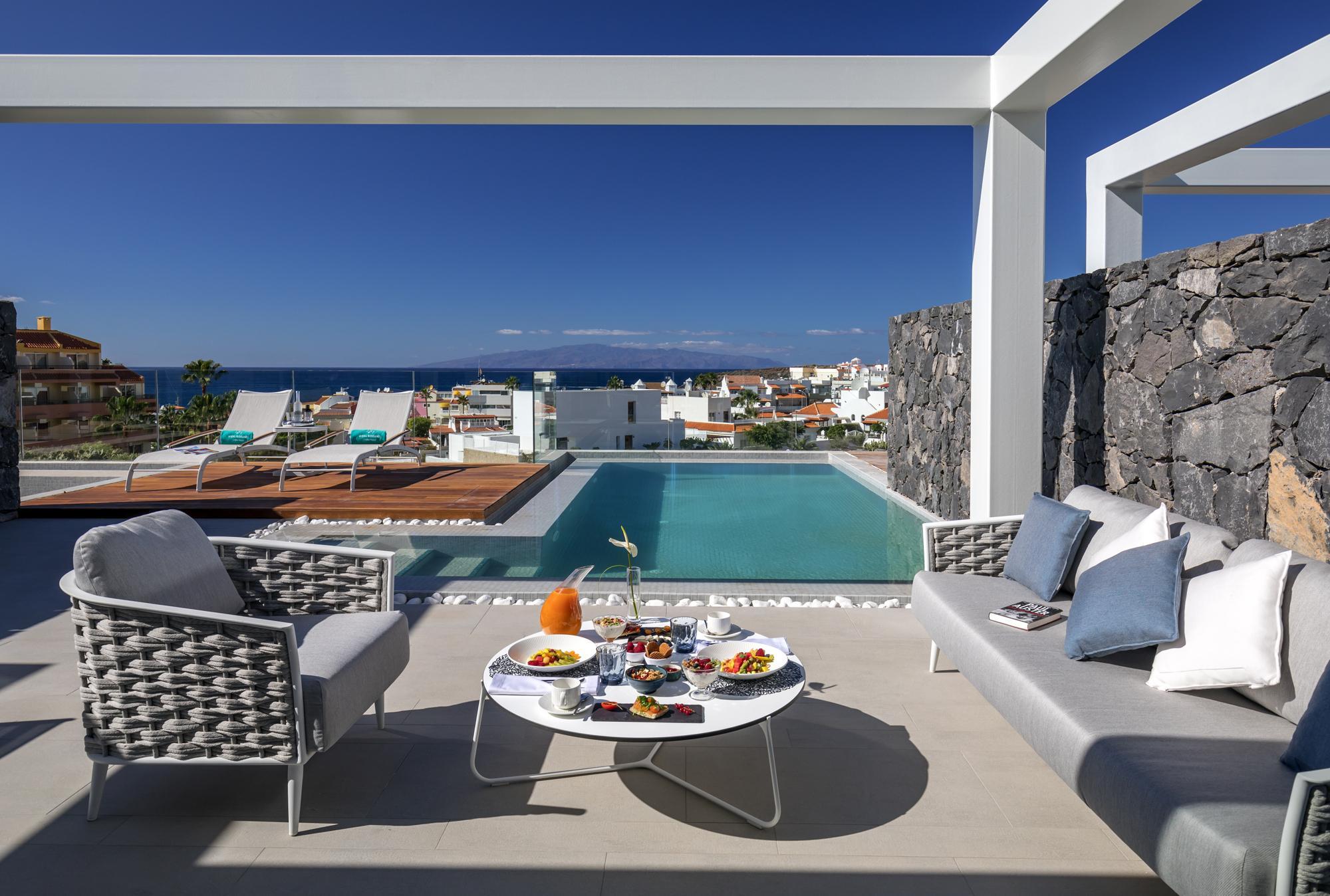 Terrace lounge set