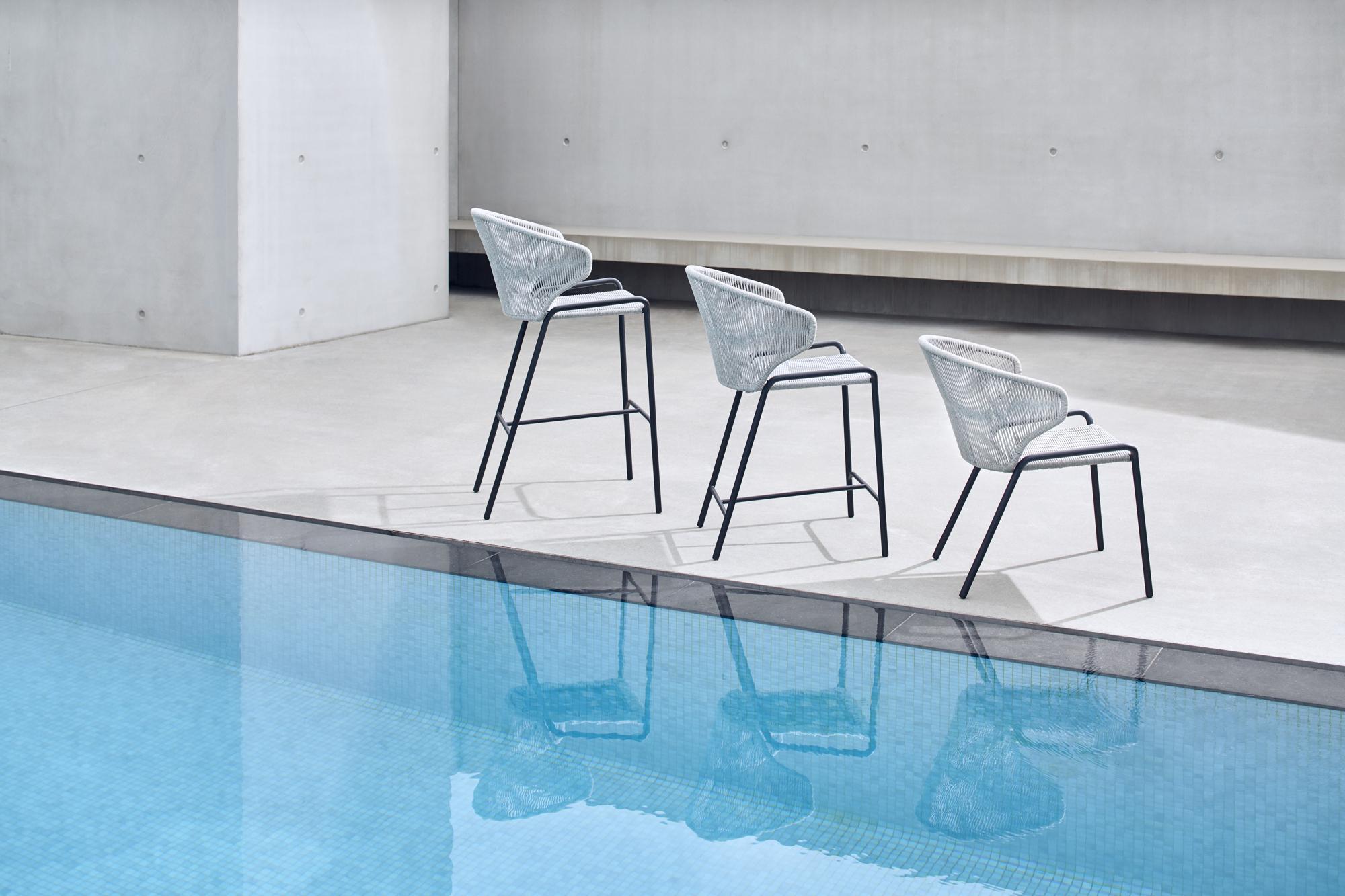 Radius stoelen