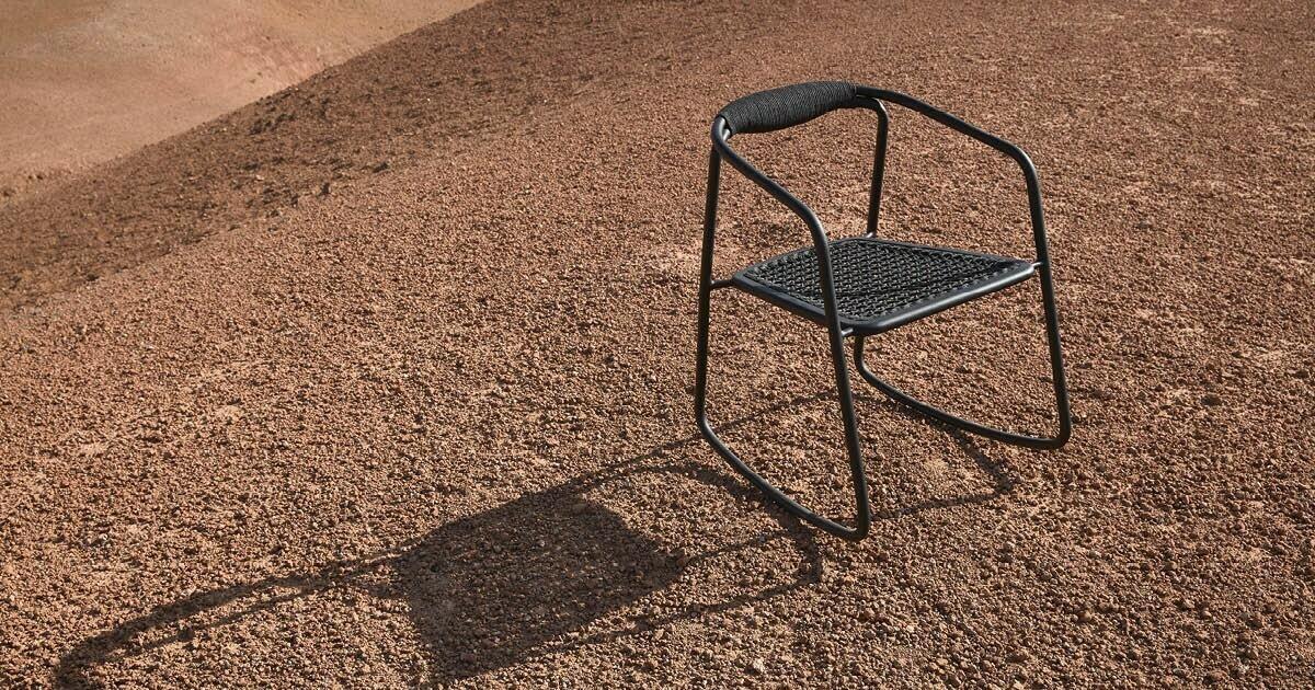 Solid stoel