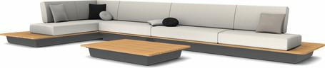 concept 2 - lava - wood top iroko