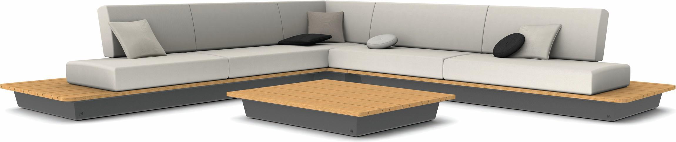 Air concept 5 - lava - houten afwerking in iroko