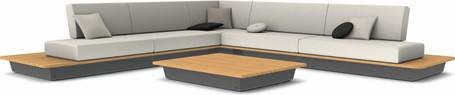 concept 5 - lava - iroko wood top
