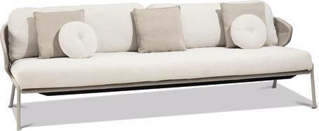 3S - Sofa fixed - flint - pepper