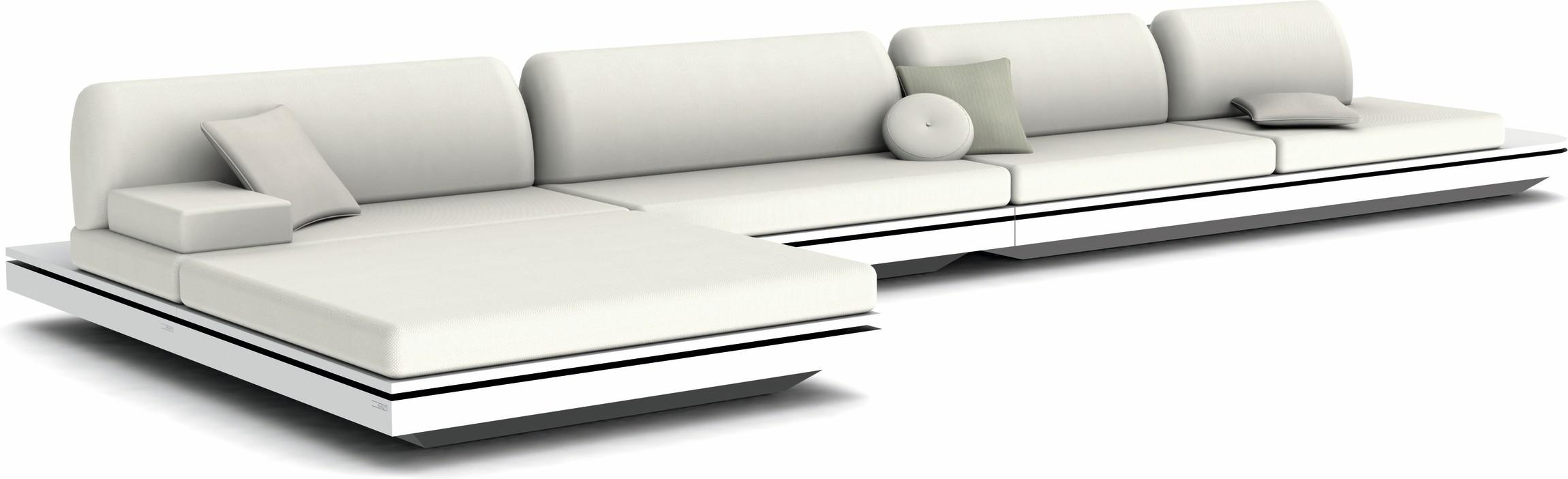 Elements concept 4 - blanc - coussins modernes