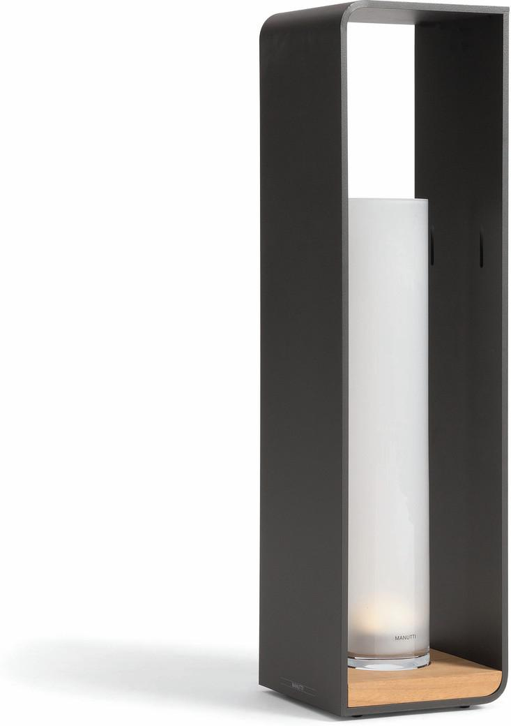 Lumo groß - LED - lavagrau