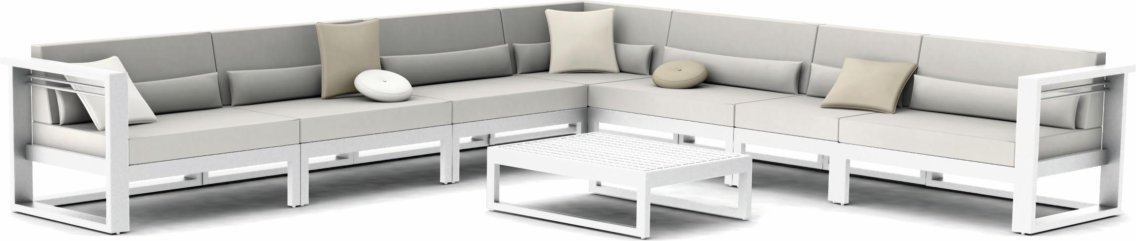 Fuse Concept 2 - bianco - textiles white