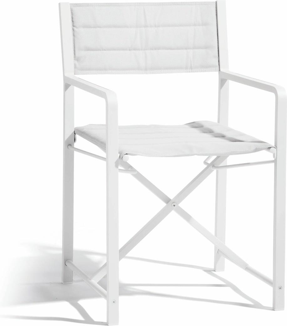 Chaise Cross - blanc - textiles white