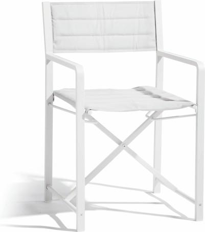 chair  white - textiles white