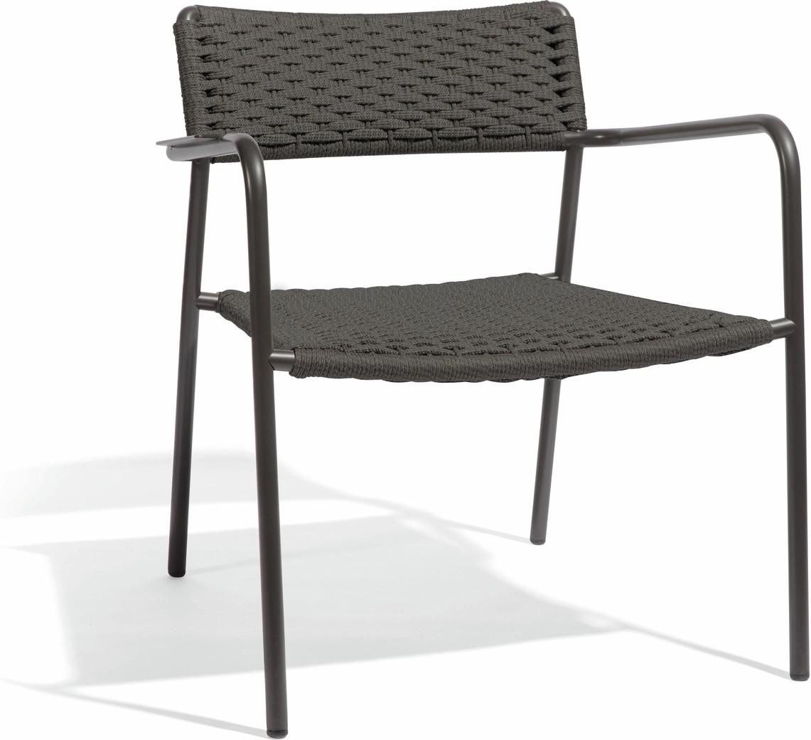 Echo 1 seater - lava - rope 11mm anthracite
