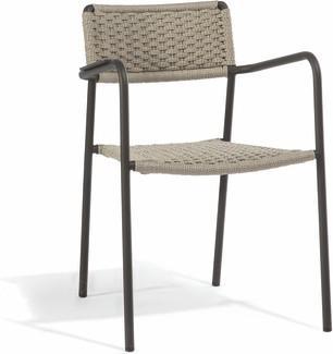 Echo chair - lava - rope 11mm bronze