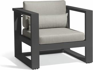 Fuse 1-Sitzer - lavagrau - textiles black
