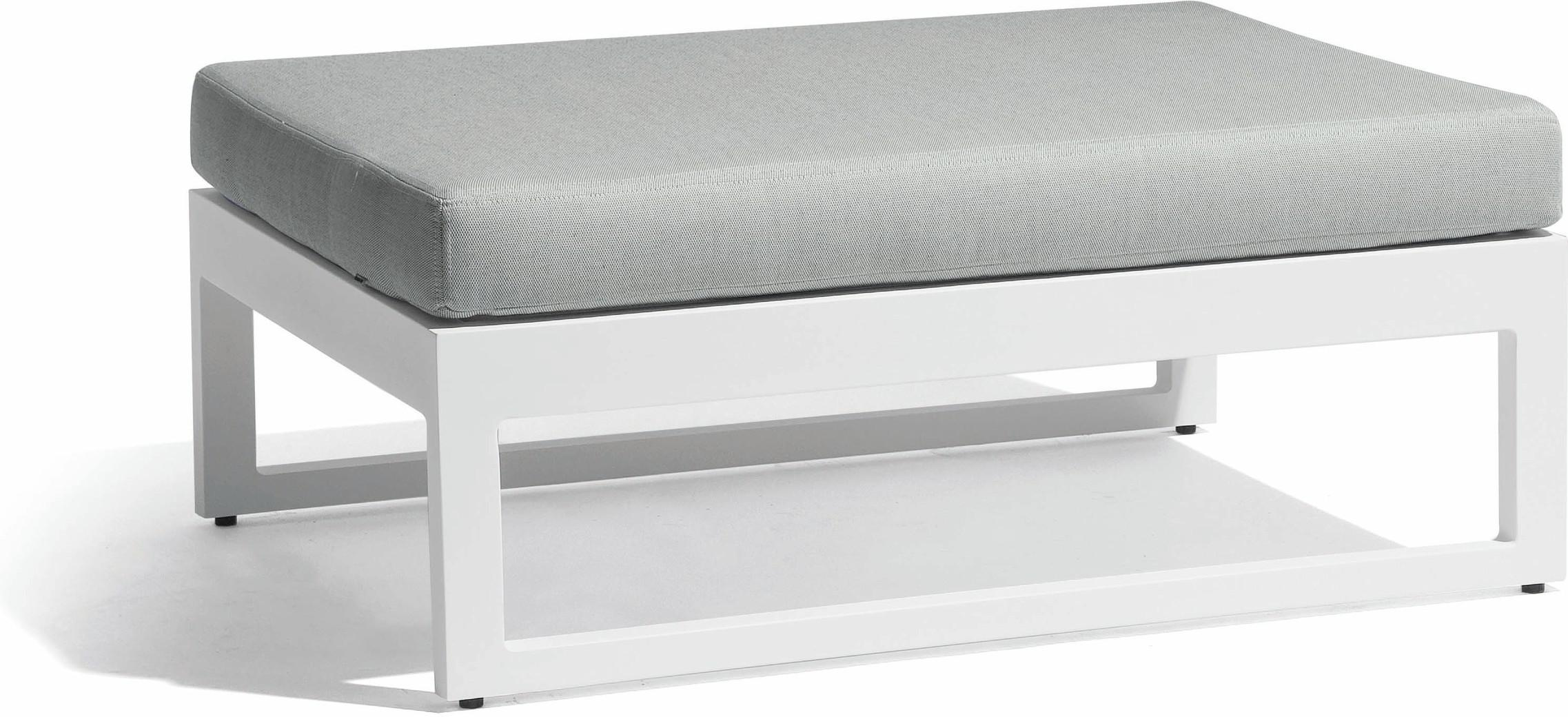 Fuse large footstool - white - GLW
