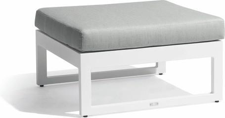 medium footstool - white - GLW
