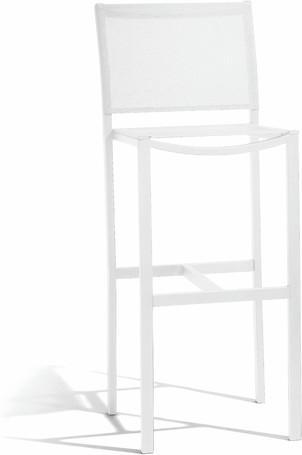 barstool 80 - white - textiles white
