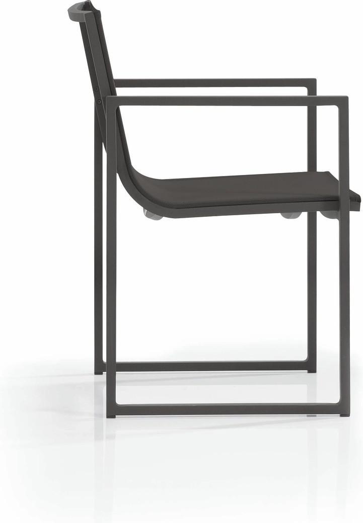 Chaise Latona - lave - Textiles black
