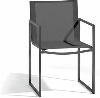 Latona chair - lava - textiles black