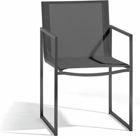 chair - lava - textiles black