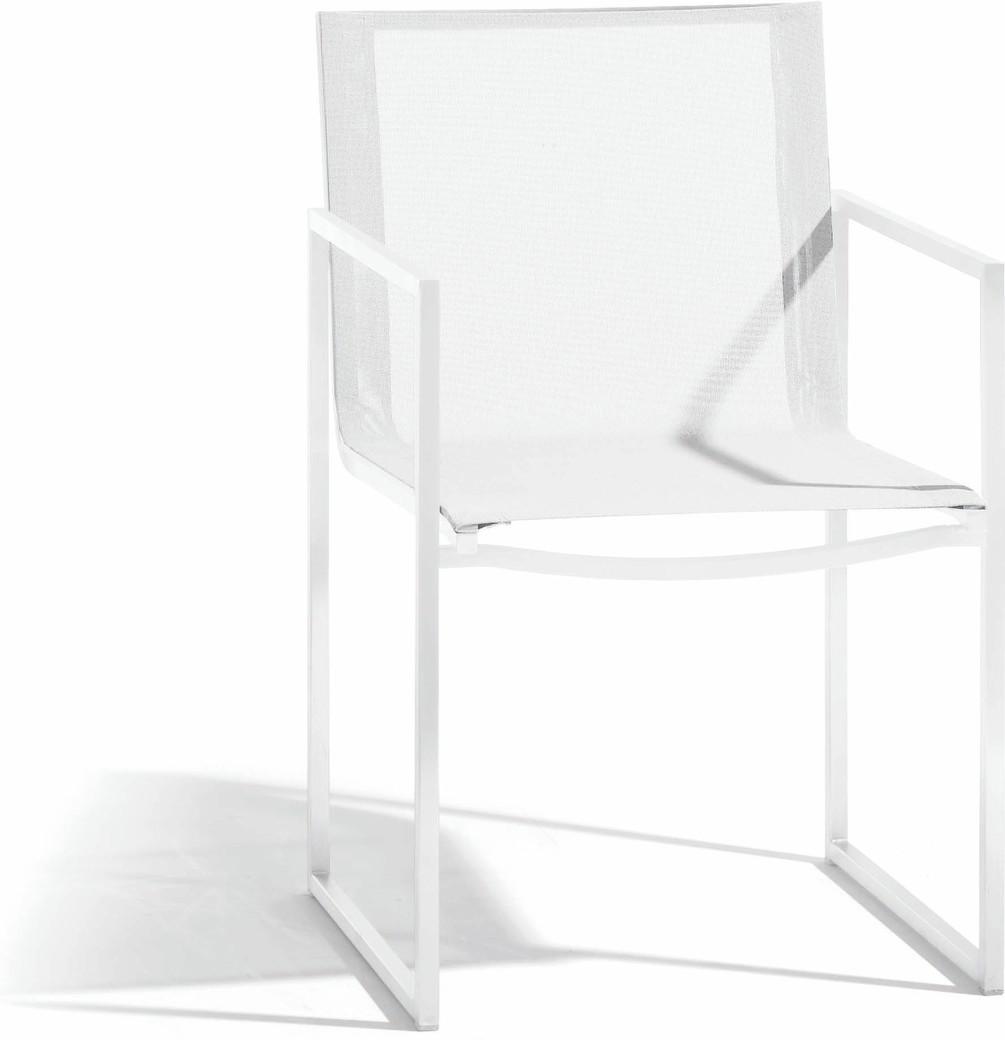 Latona chair - white - textiles white