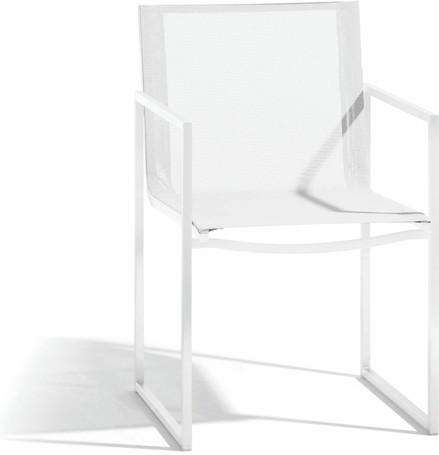 chair - white - textiles white
