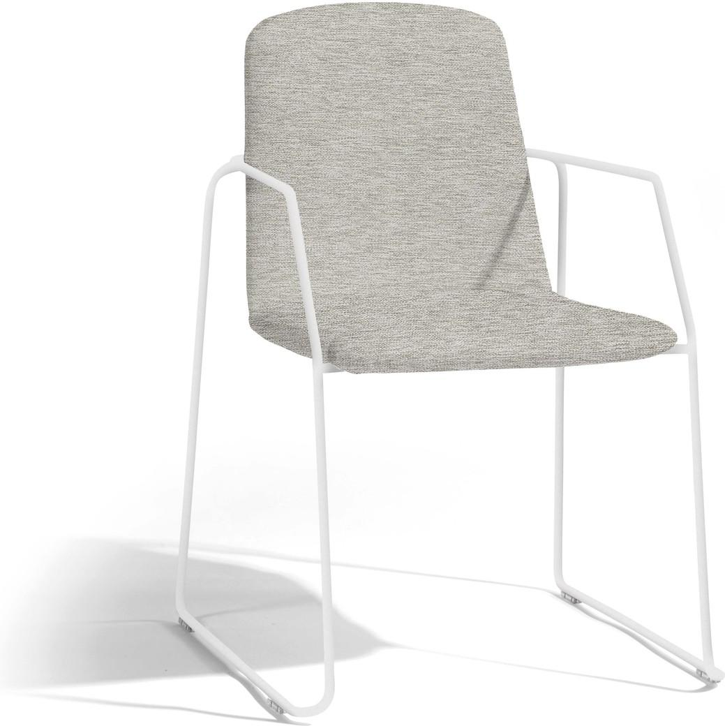 Loop chair - white - lotus smokey
