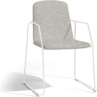 Loop chair - white - lotus smokey