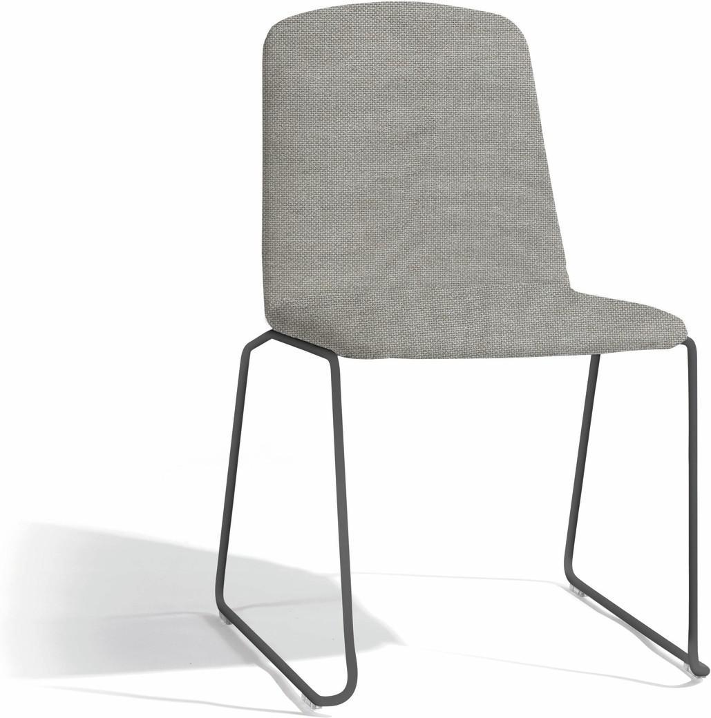 Loop dining chair - lava - milestone