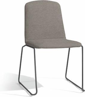 Loop dining chair - lava - lotus sparrow