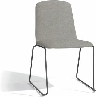 Loop dining chair - lava - milestone