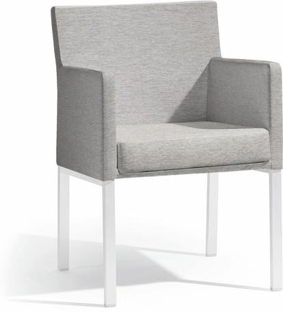 chair - white - lotus smokey