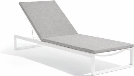 lounger - white - lotus smokey