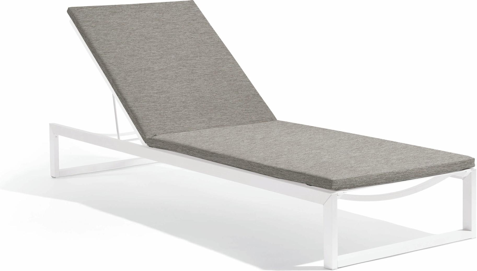 Liner lounger - white - sparrow