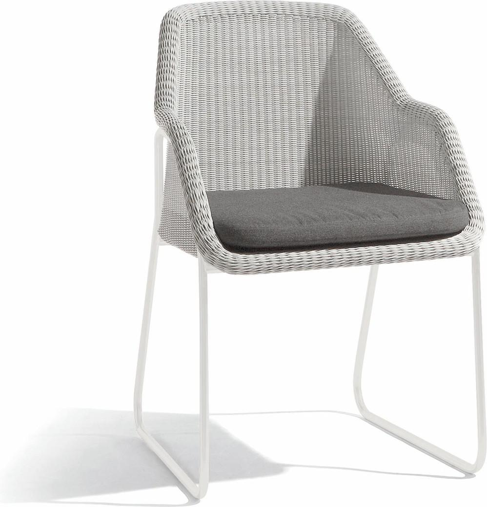 Mood silla - blanco - tireta de 2 mm blanco