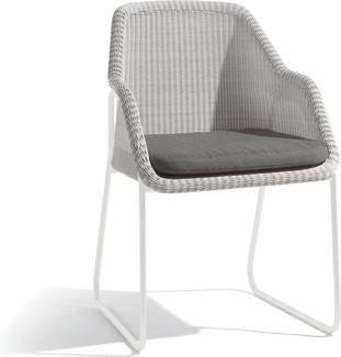 Mood chair - white - cord 2mm off white