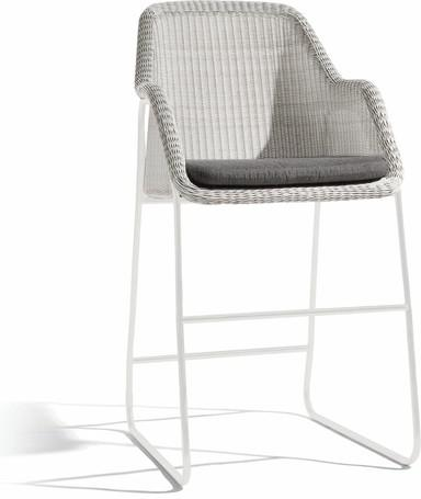 barstool 60 - white - cord 2mm off white