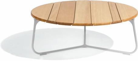 coffee table - flint - Iroko 80