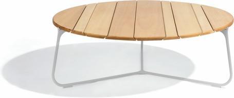 coffee table - flint - Iroko 100
