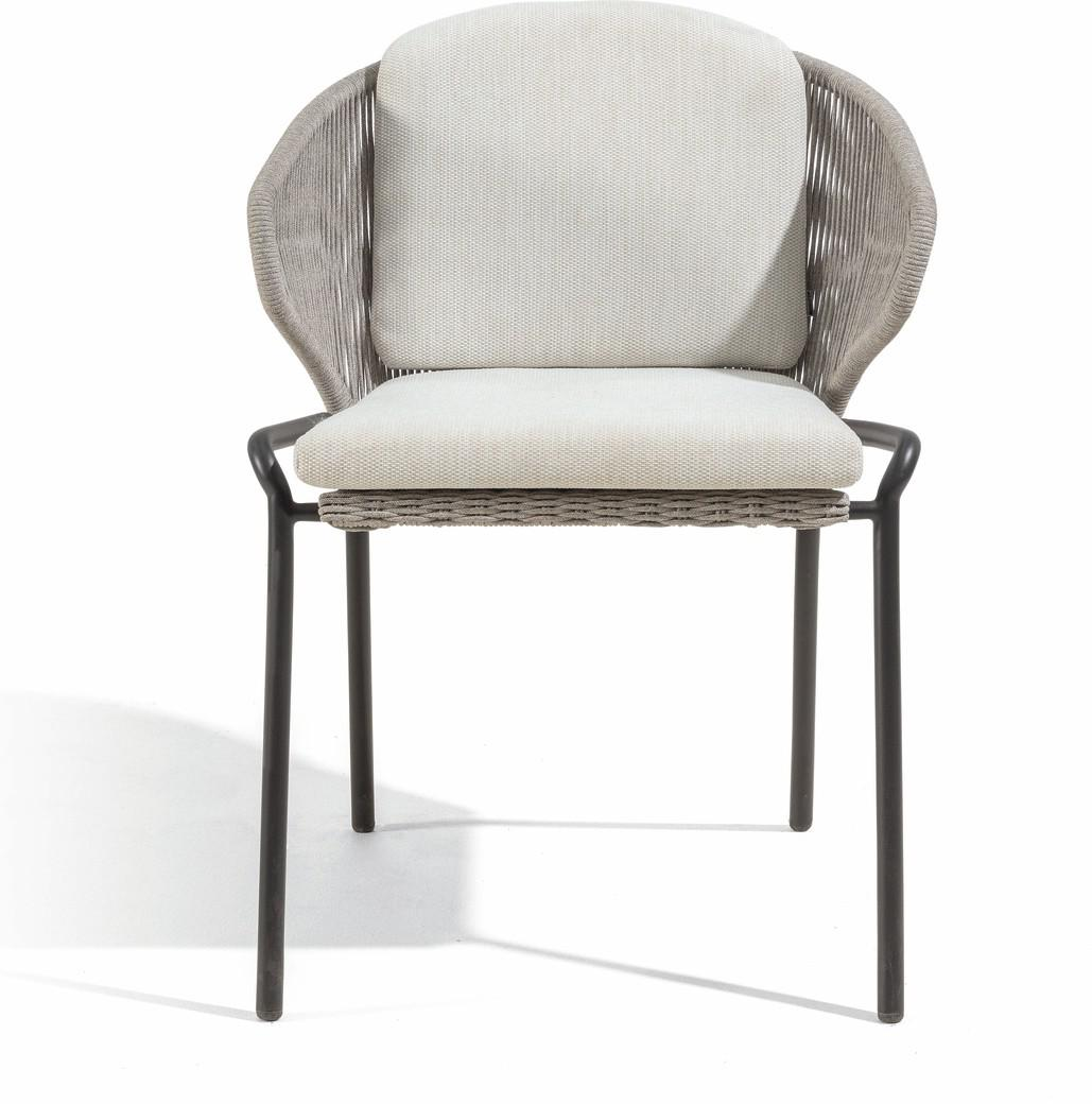 Radius Chair - lava - silver