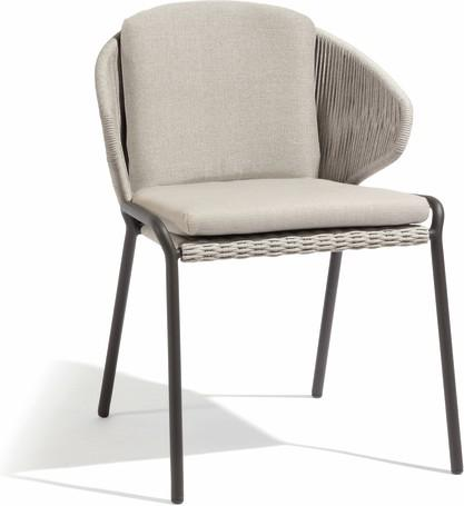 Chair - lava - silver