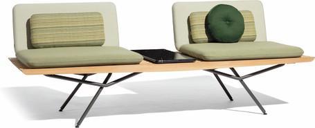 Sofa modular 2 seater - lava - Iroko 130
