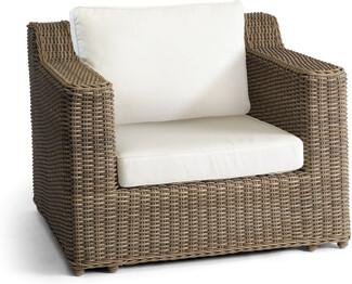 San Diego 1 seater - Lounge chair - cord 8mm old grey