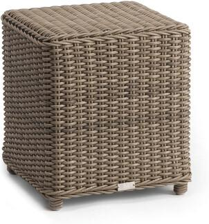San Diego small footstool cord 8mm old grey 84