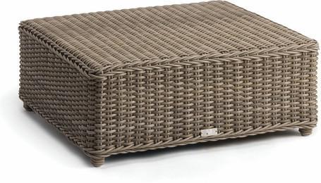 medium footstool cord 8mm old grey 84