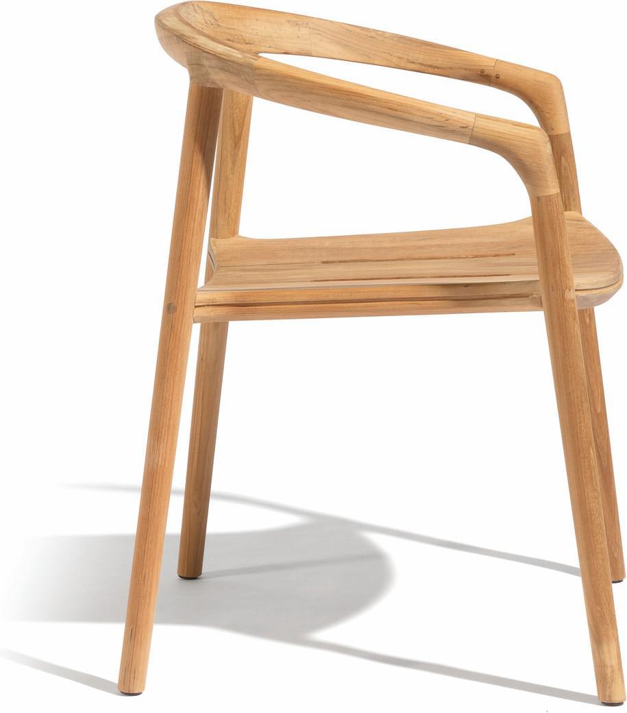 Solid armchair - teak
