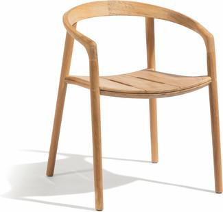 Fauteuil Solid - Teck